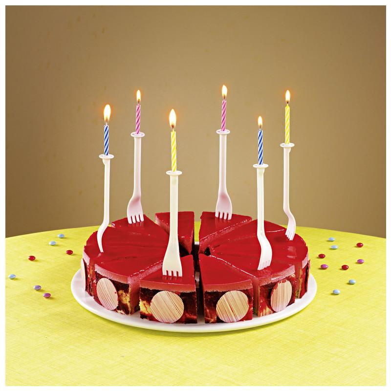 12 držáků svíček