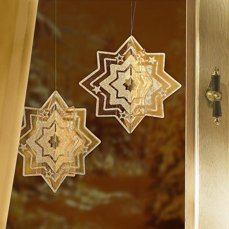 3D - Trblietavá vianočná hviezda