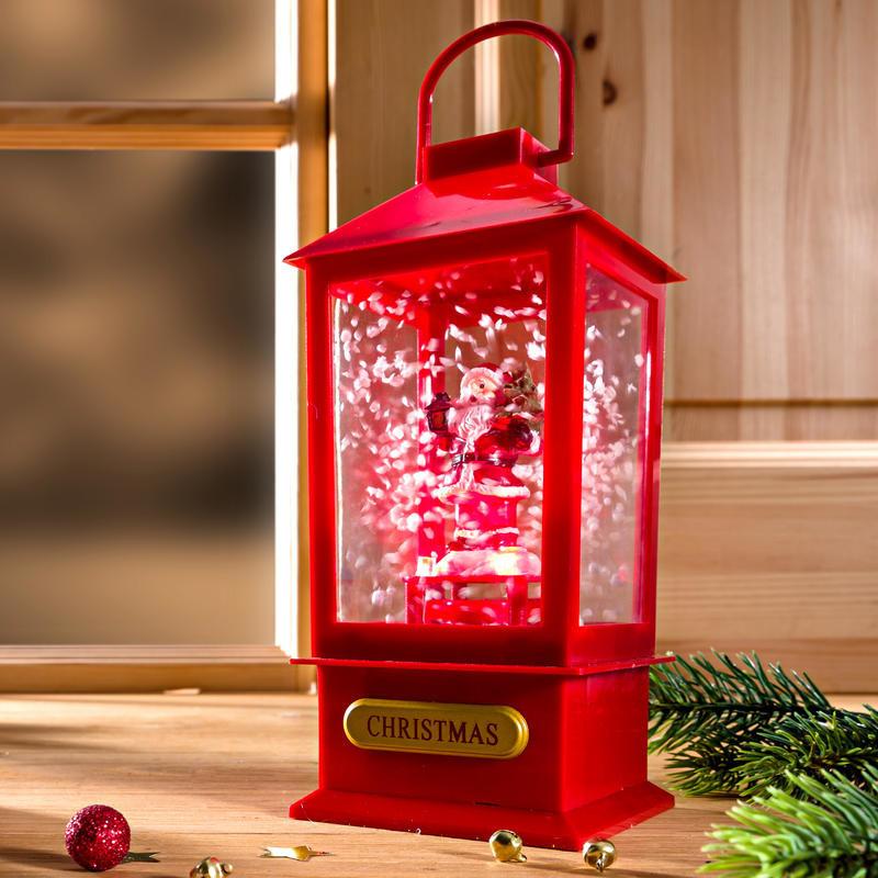 LED lampáš Santa