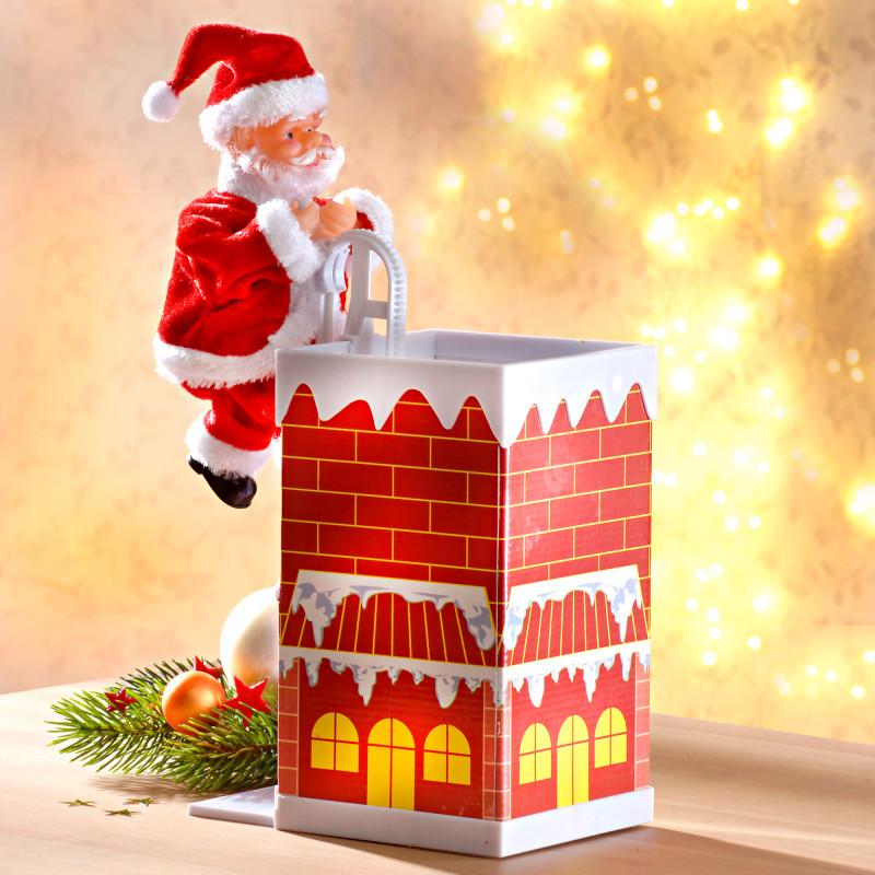Santa Claus na komíne
