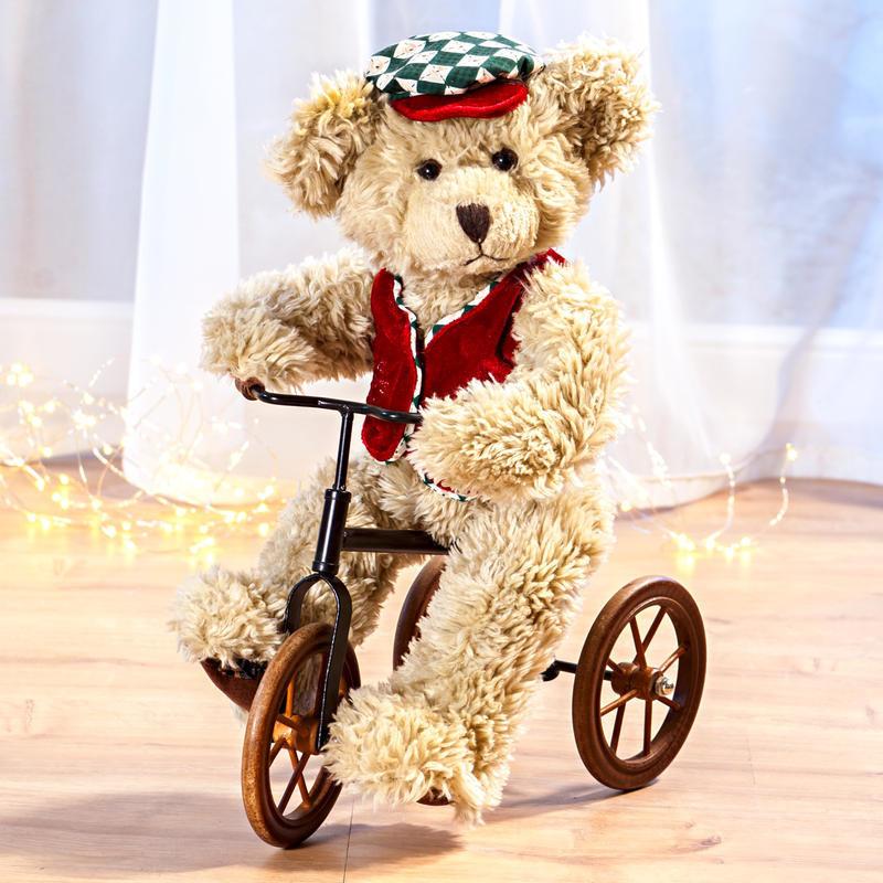 Medvěd na tříkolce onerror=