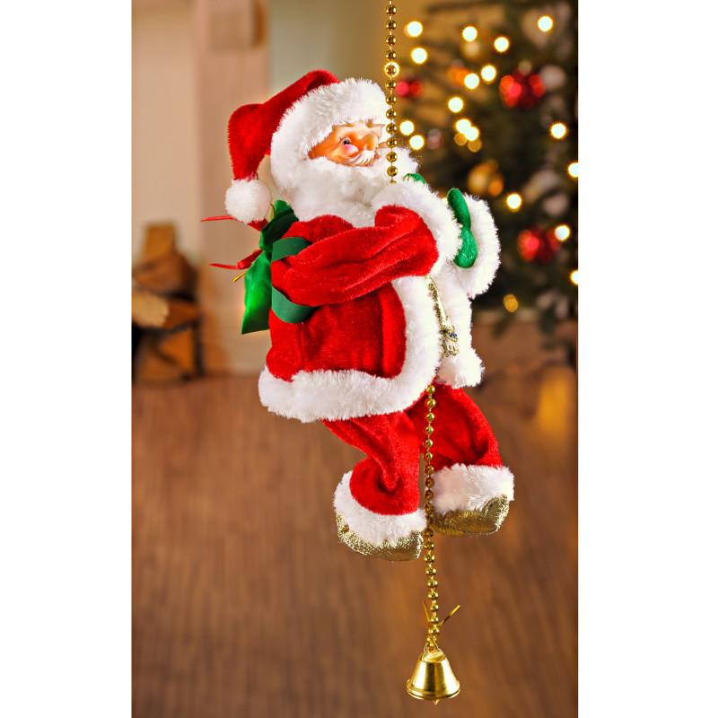 Šplhající Santa Claus onerror=