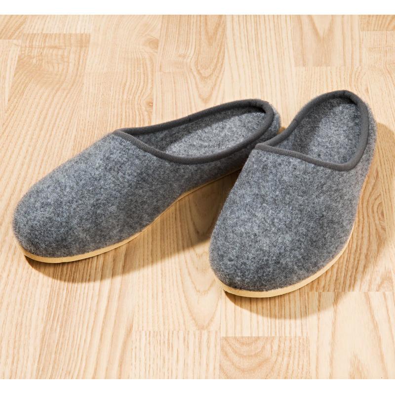 Pánské pantofle, tmavě šedá onerror=