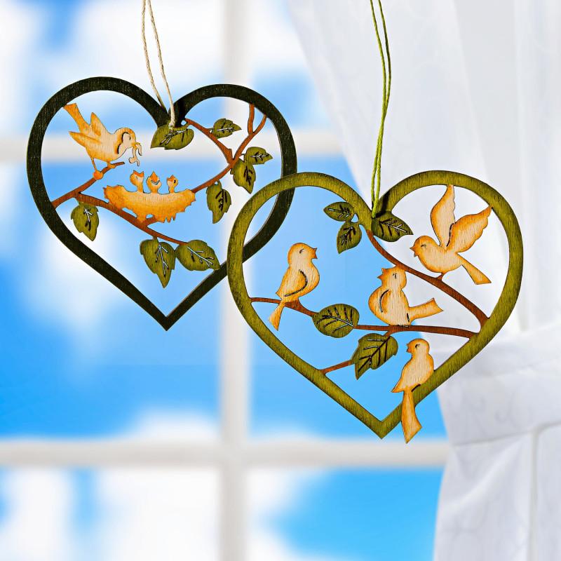 2 dekorativní srdce onerror=