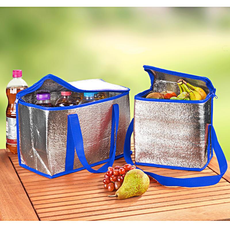 2 chladicí tašky, modrá onerror=