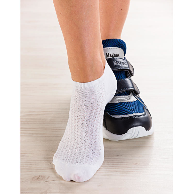 2 páry dámských sportovních ponožek, vel. 35/37, 38/41 onerror=
