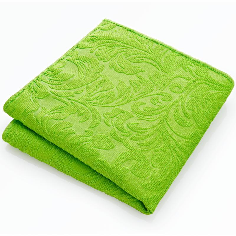 Čistiaca utierka z mikrovlákna, zelená