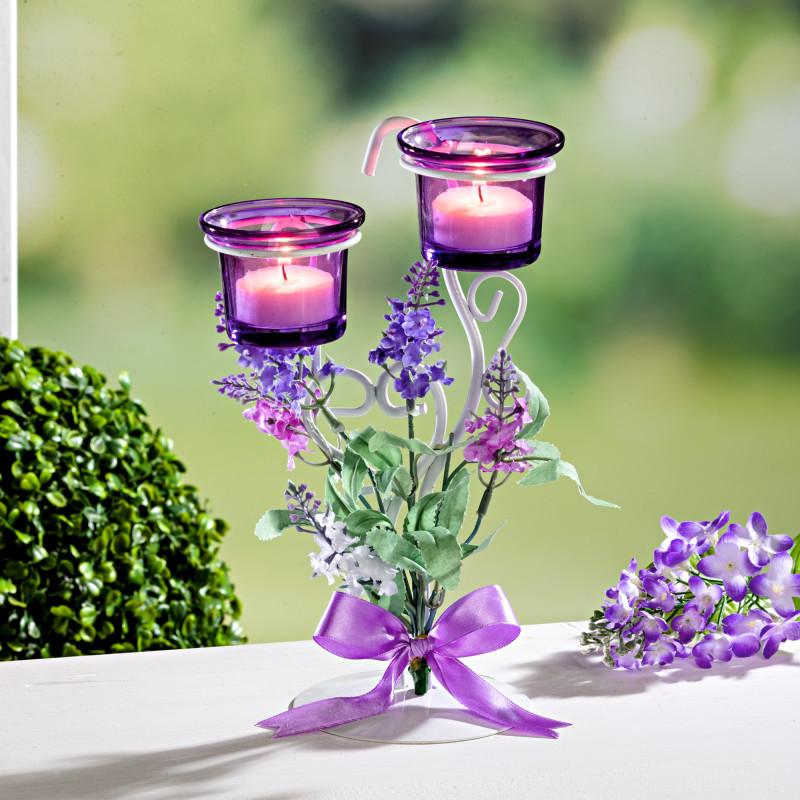 Svícen na čajové svíčky onerror=