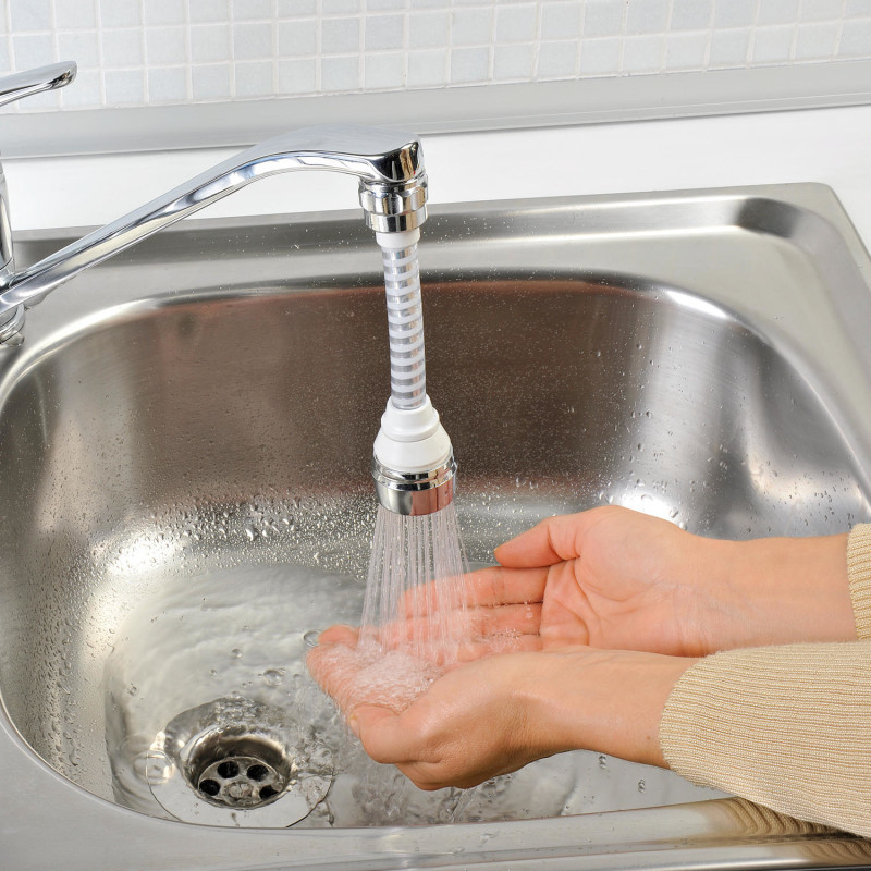 Flexibilný šetrič vody