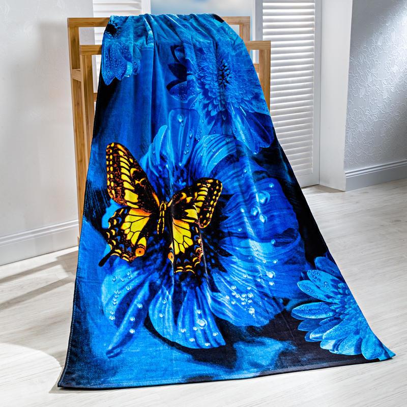 Recznik kapielowy Motyl onerror=