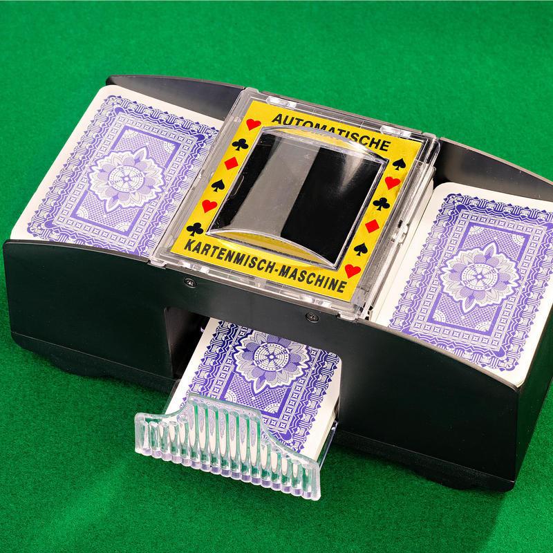 Automatický strojek na míchání karet onerror=