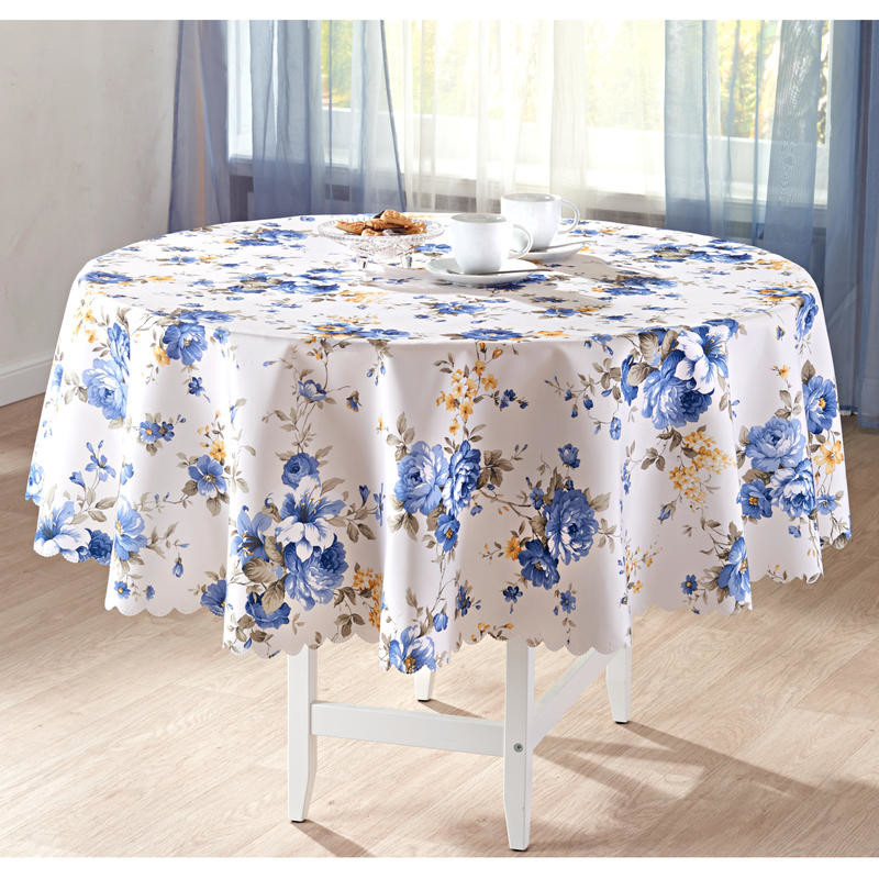 Obrus Błękitne kwiaty onerror=