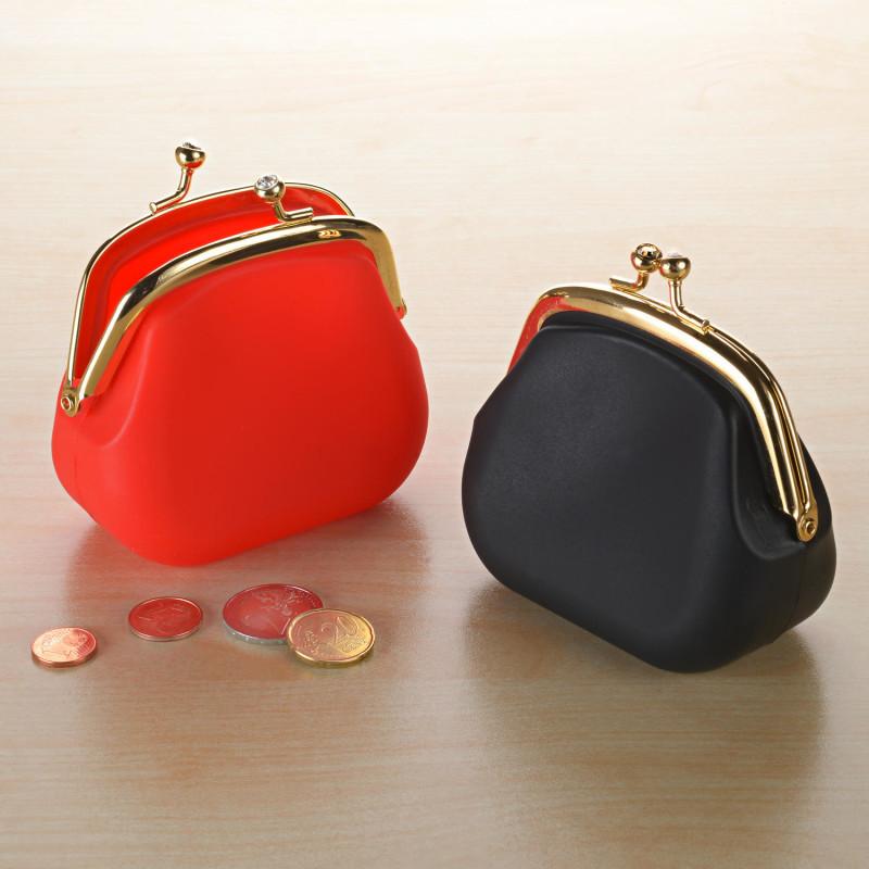 Peňaženka, červená