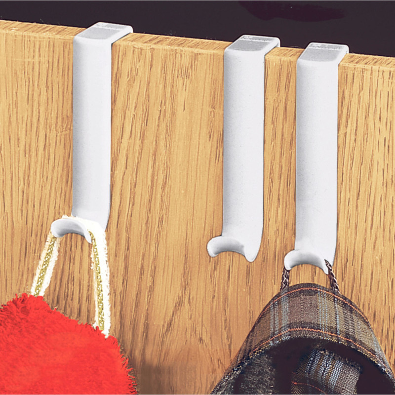 10 šatních háčků na dveře onerror=