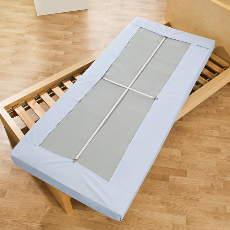 2 elastické popruhy na posteľnú plachtu