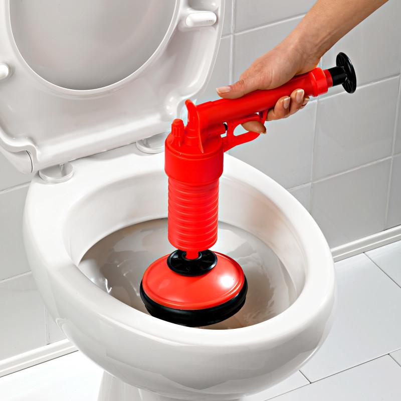 Čistiaca pumpa na odpady, červená
