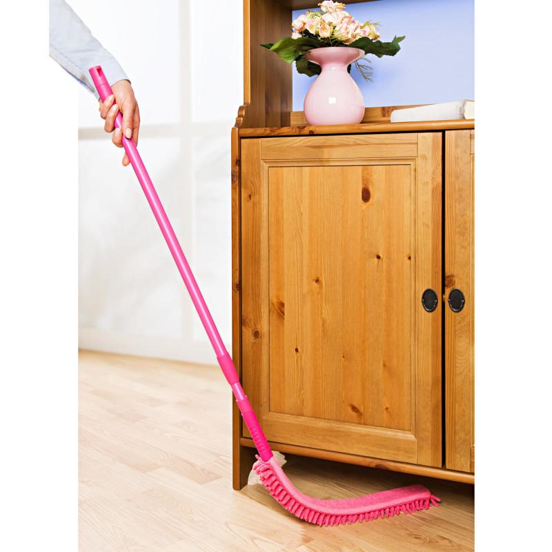 Płaski mop, różowy onerror=