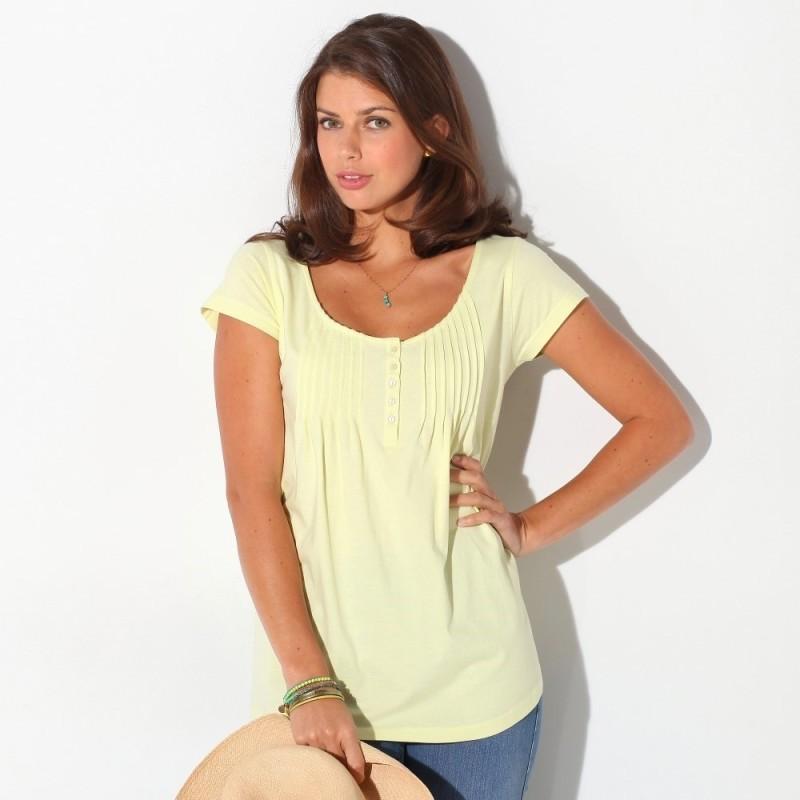 Jednobarevné tričko