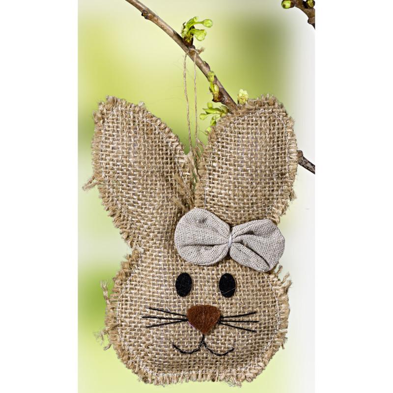 Dekoratívny zajačik, biela