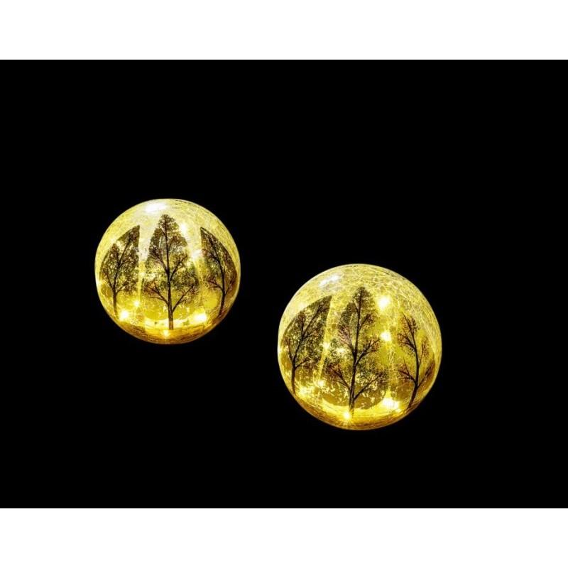 LED skleněná koule