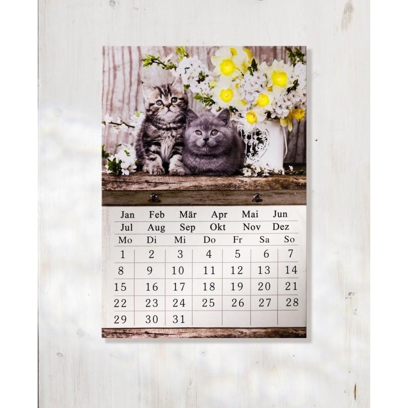 LED kalendár