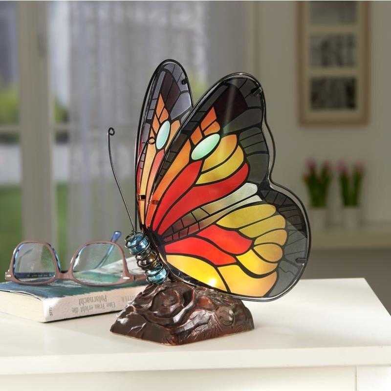 LED motýľ