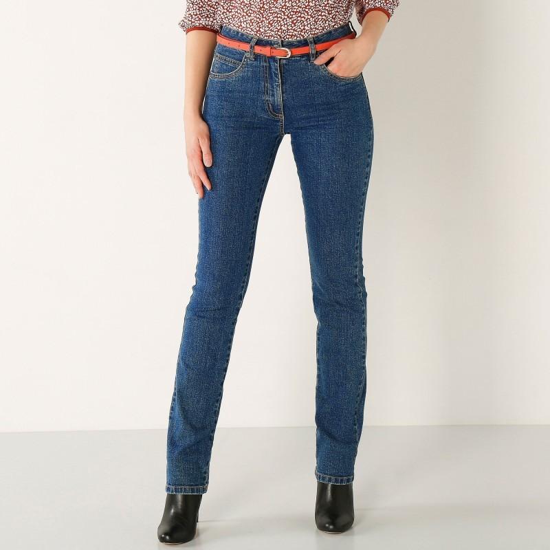 Rovné džíny, vysoká postava