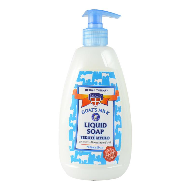 Kozí mléko tekuté mýdlo s pumpičkou