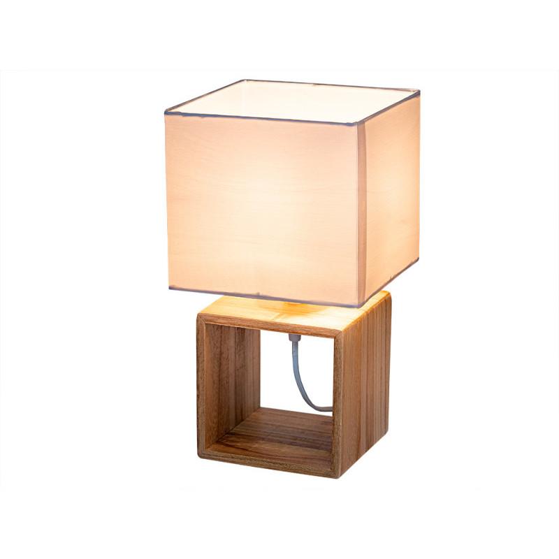 Stolní lampa ve tvaru kostky