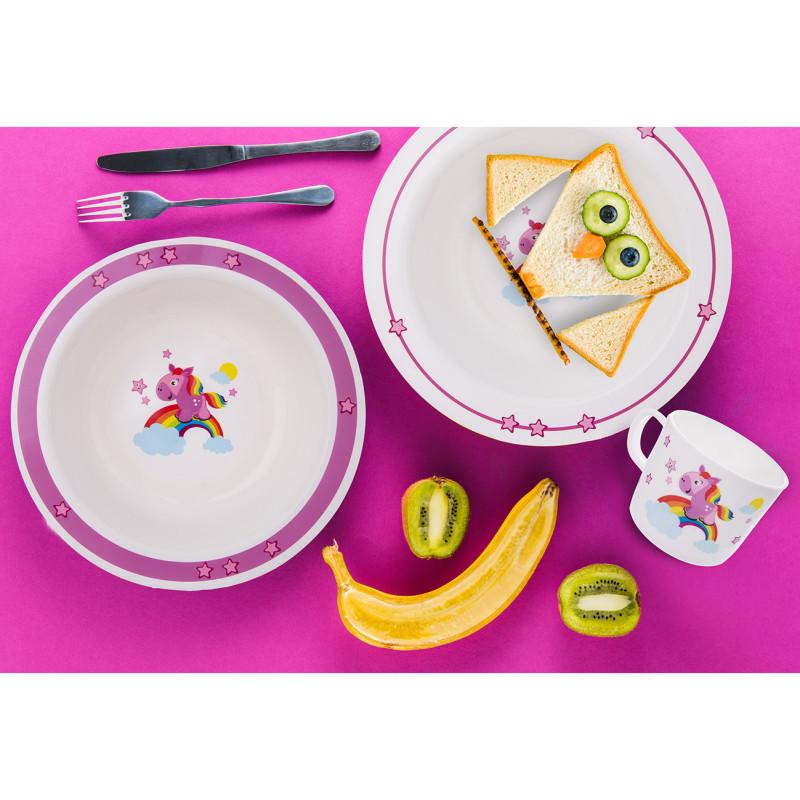 Sada jídelní UH dětská KONÍK 3 ks