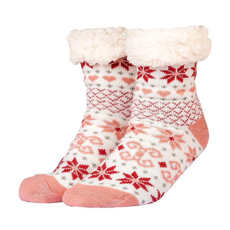 Zimní ponožky hvězdy