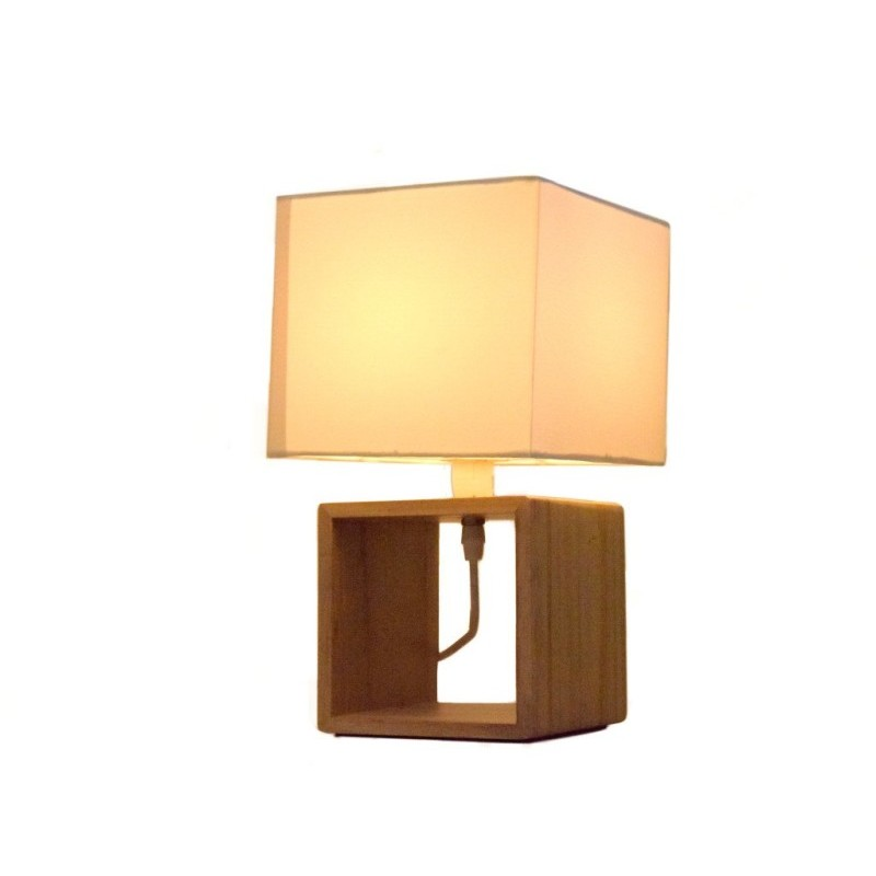Lampa stołowa Sześcian Grundig onerror=