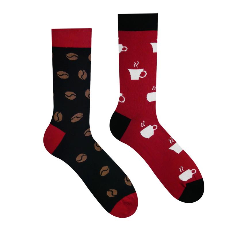 Veselé ponožky Milovník kávy