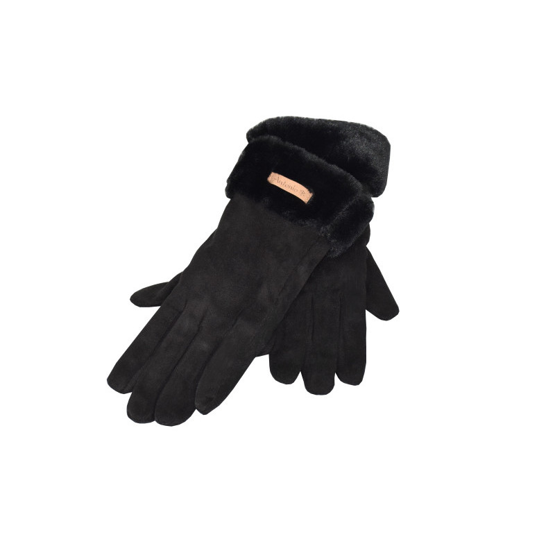 Dámské zimní rukavice s beránkem
