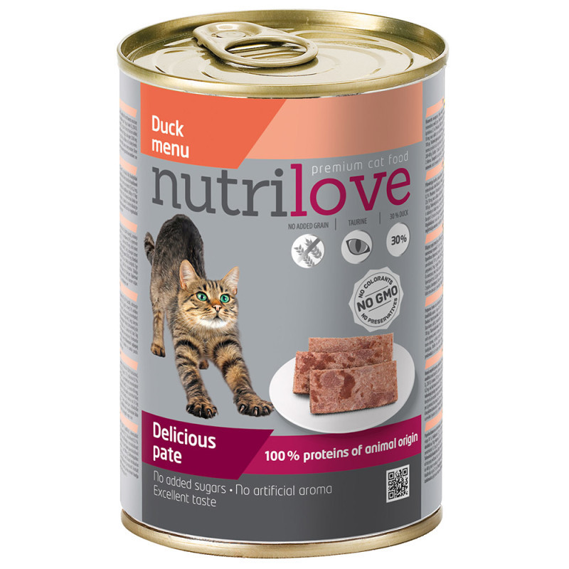 Nutrilove cat konzerva paté
