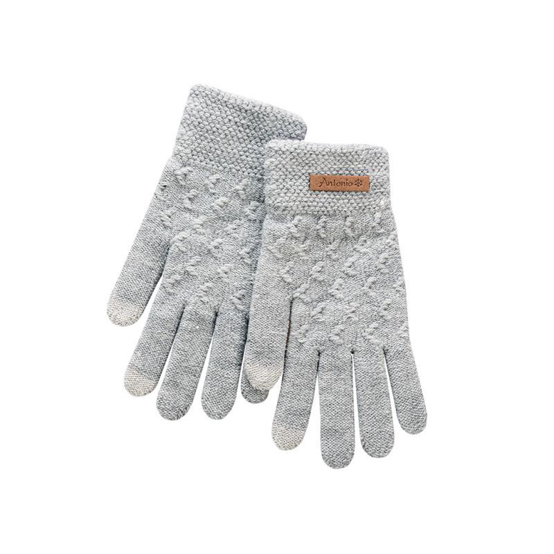 Damskie rękawiczki do ekranów dotykowych onerror=