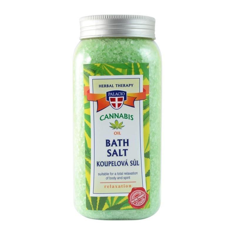 Ziołowa sól do kąpieli z olejem z konop onerror=