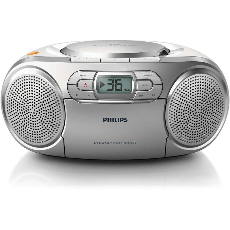 Radiomagnetofon z odtwarzaczem CD onerror=