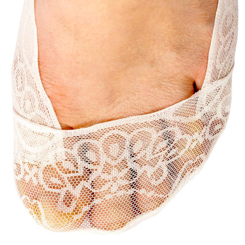 Sada krajkových nízkých ponožek