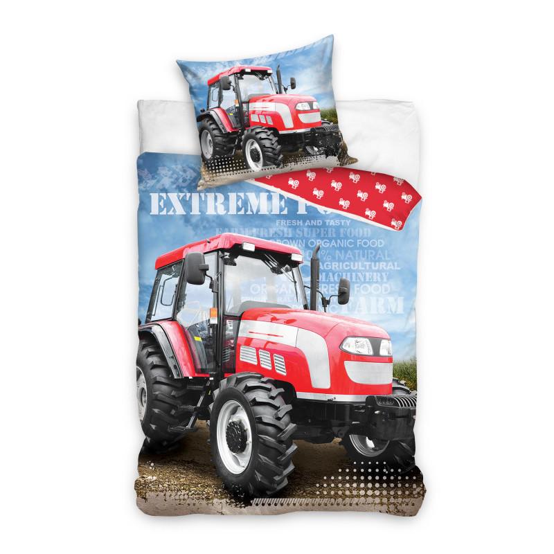Komplet pościeli Traktor onerror=