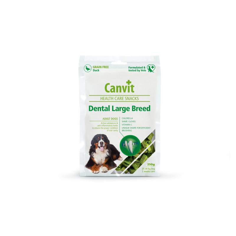 Canvit Snacks Dental Large Breed-Duck