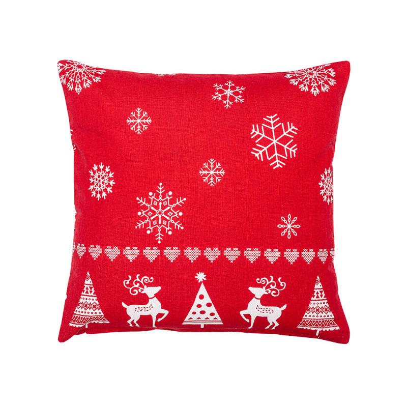 Bożonarodzeniowa poszewka na poduszkę onerror=