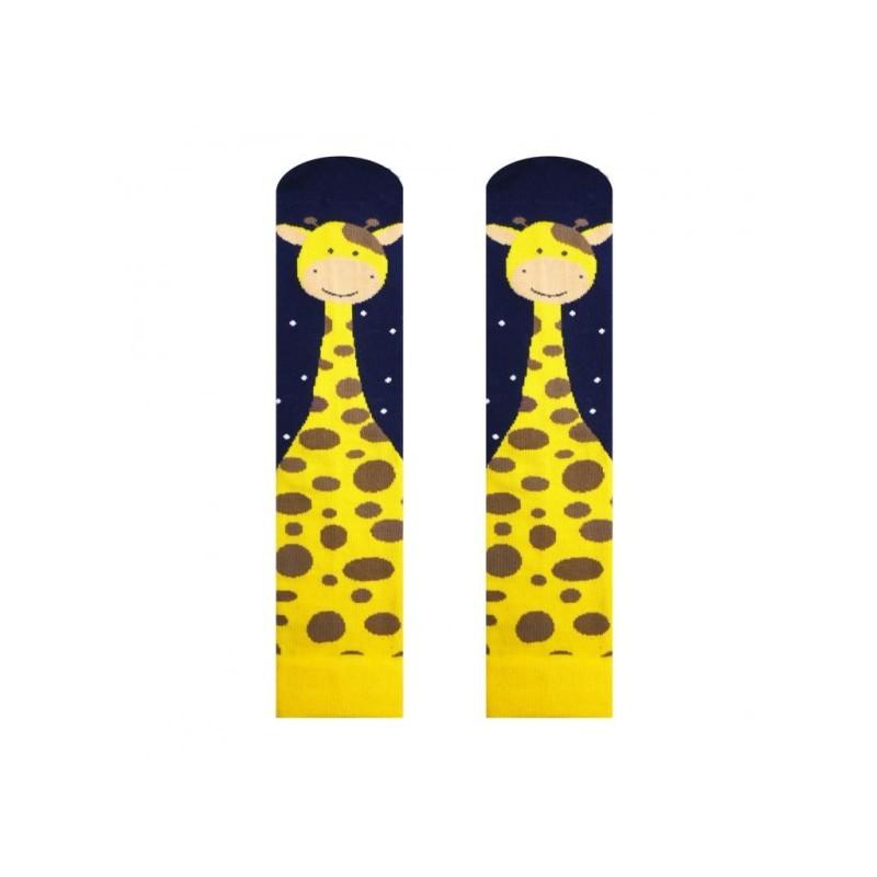 Wesołe skarpetki żyrafa onerror=