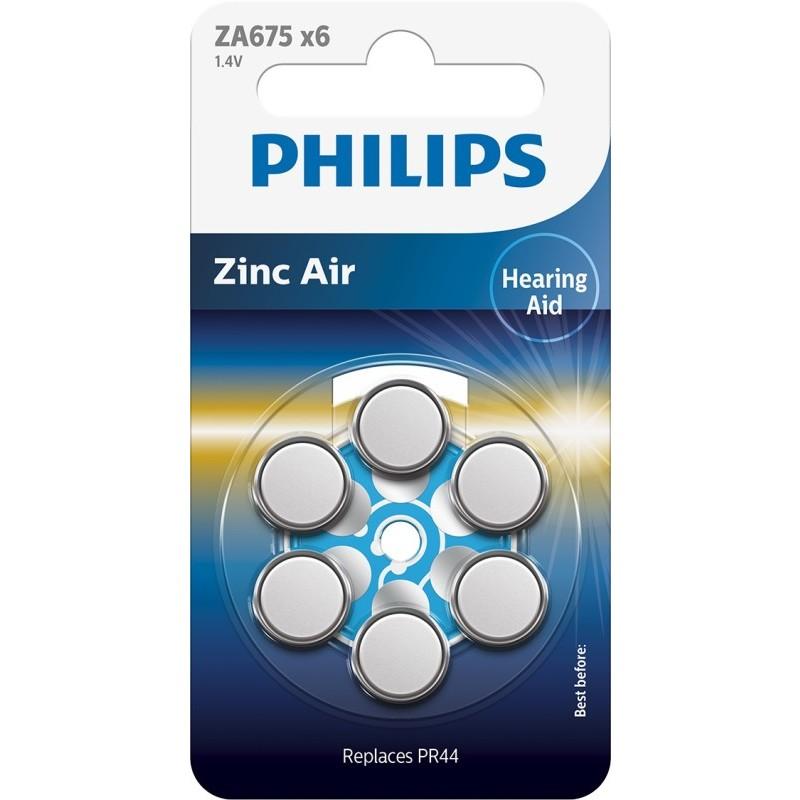 Baterie do naslouchadel PHILIPS ZA675B6A