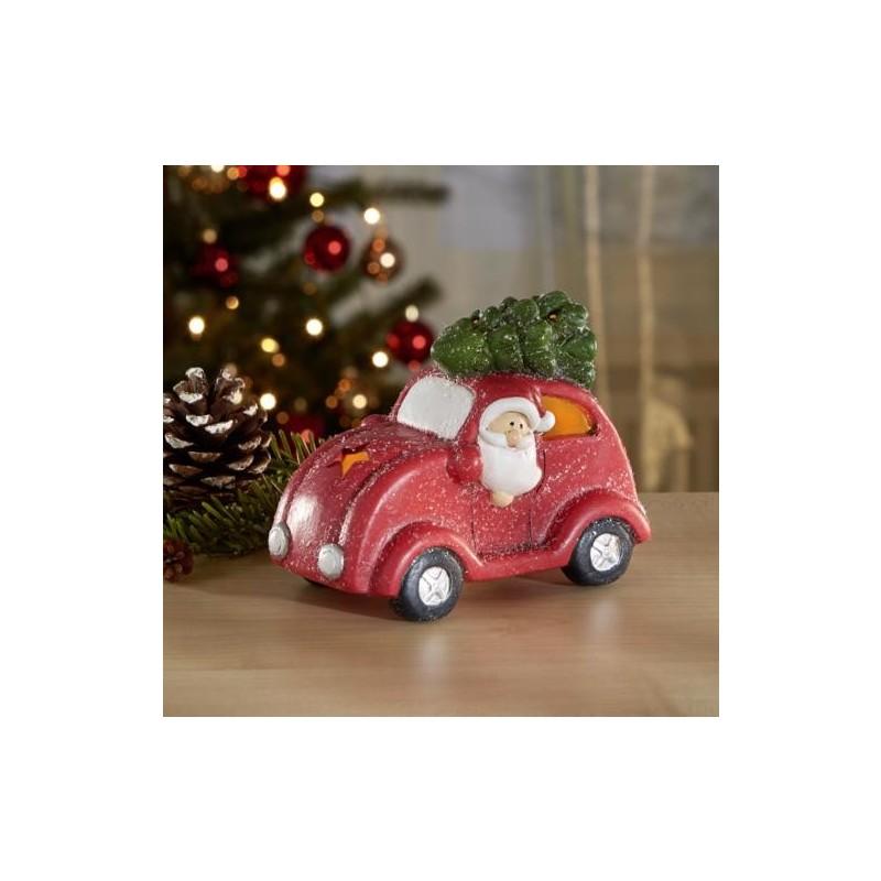 LED vianočné auto