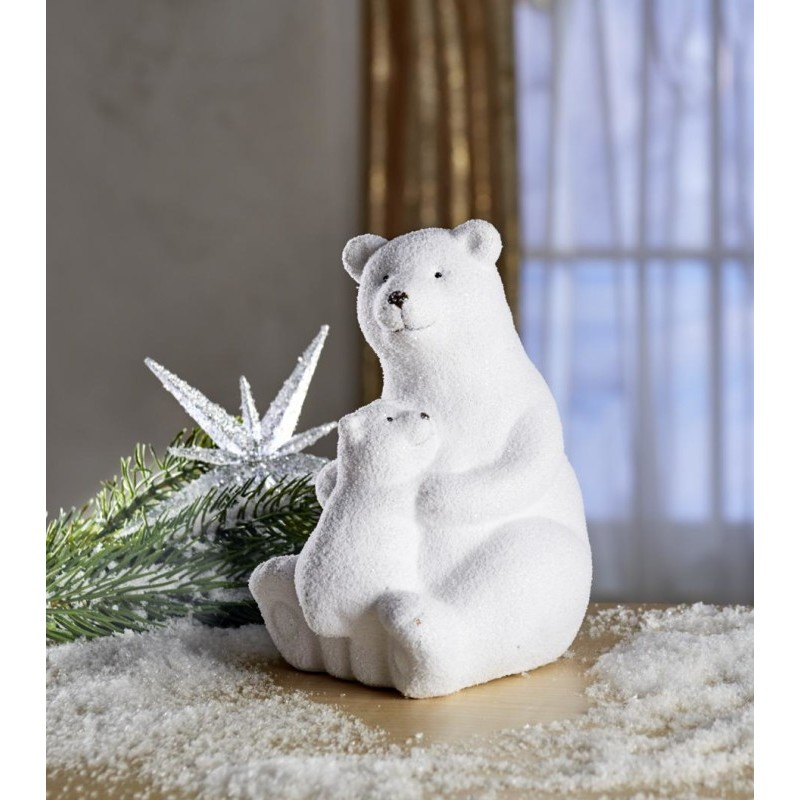 Sediaci ľadový medveď