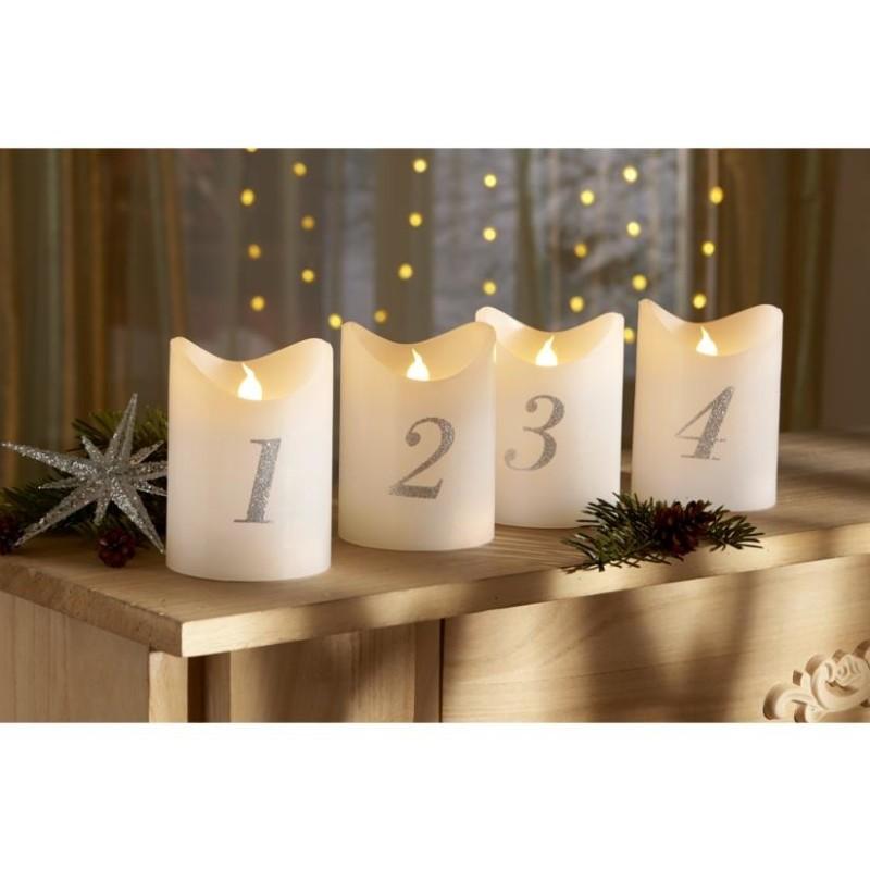 LED adventní svíčky s dálkovým ovládáním onerror=