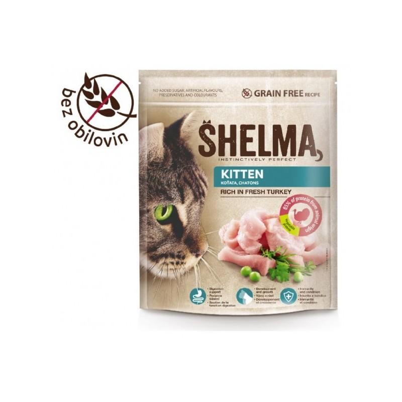 Shelma Junior bezobilné granule pro koťata 750g