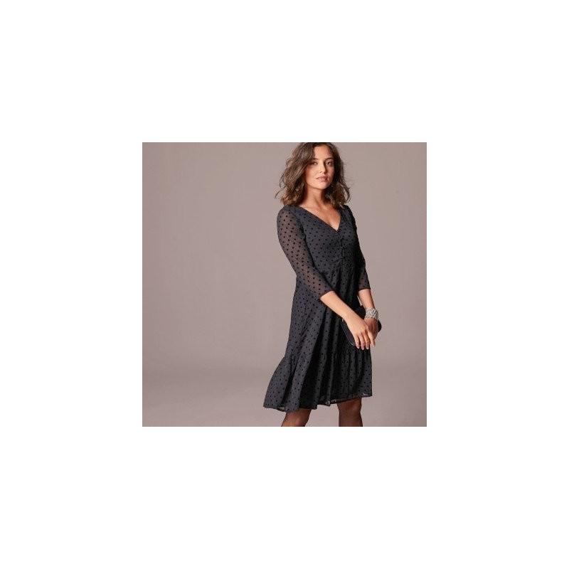 Sukienka z tkaniny plumeti onerror=