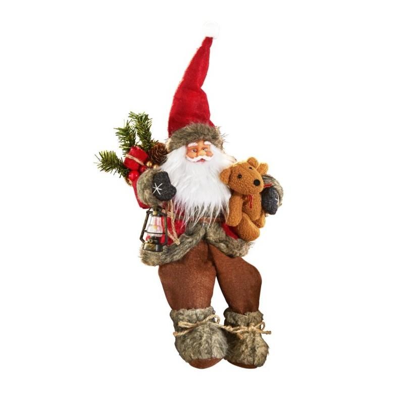 Figurka Święty Mikołaj onerror=